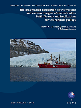 Volume 37 GEUS Bulletin front cover