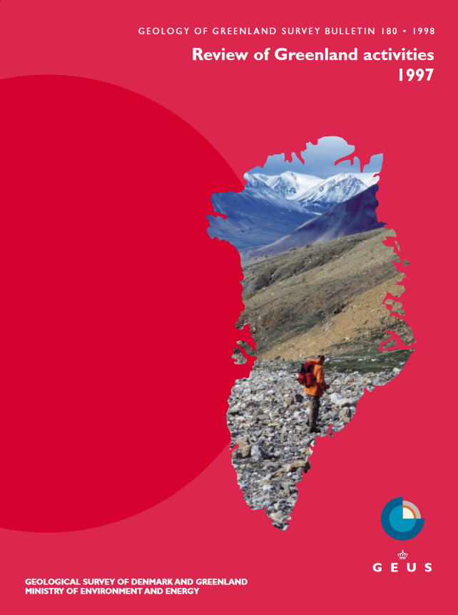 Geology of Greenland Survey Bulletin 180 cover