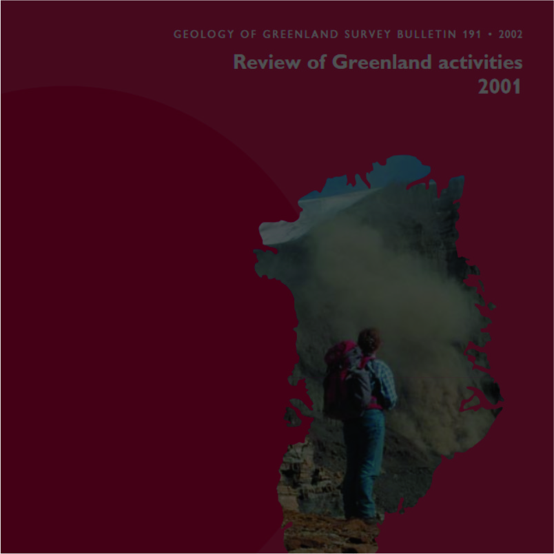 cover image for Greenland former series