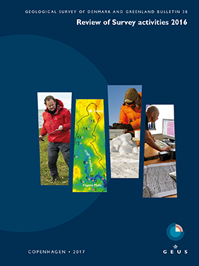 Volume 38 GEUS Bulletin front cover